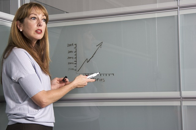 učitelka s grafem