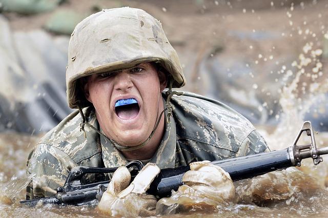 padlý voják