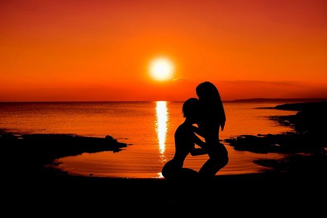 sex za západu slunce