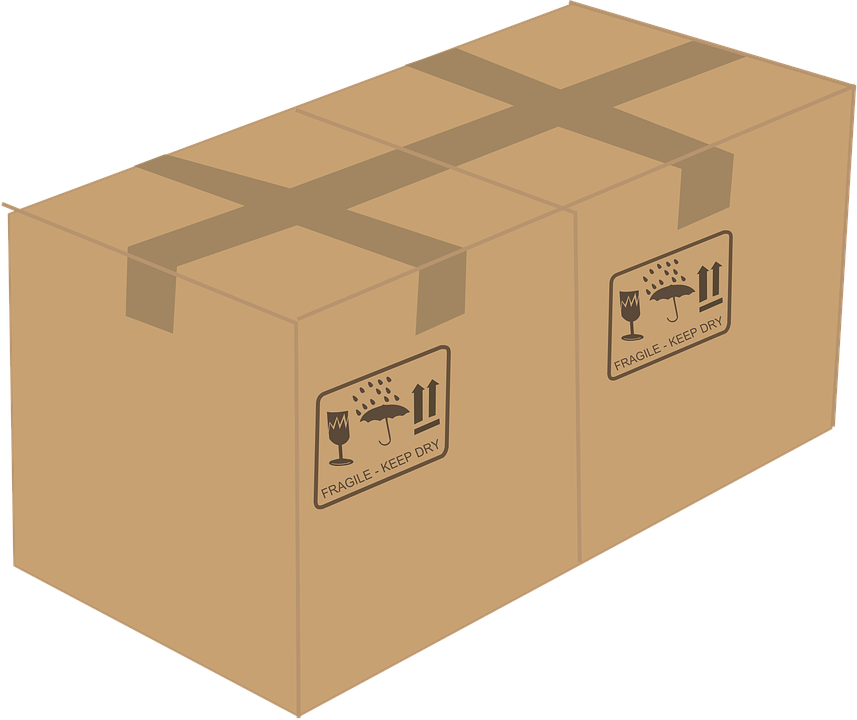 lepenková krabice